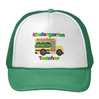 Autobús de Froggie del maestro de jardín de infanc Gorro