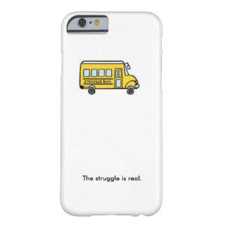Autobús de la lucha funda para iPhone 6 barely there