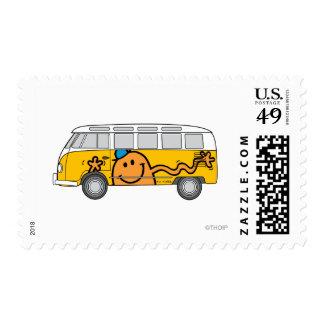 Autobús de las cosquillas sello