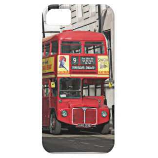 Autobús de Londres del vintage iPhone 5 Case-Mate Fundas