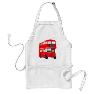 Autobús de Londres Delantal