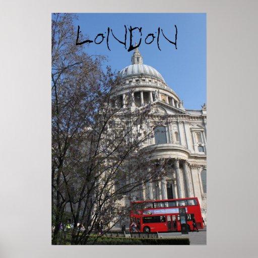 Autobús de Londres Impresiones