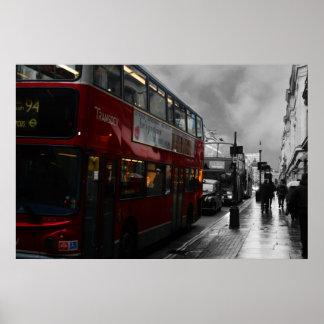Autobús de Londres Póster