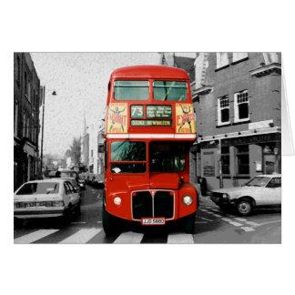 Autobús de Londres Routemaster Tarjeta De Felicitación