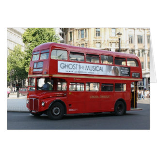 Autobús de Londres Tarjeta De Felicitación