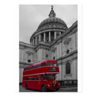 Autobús del rojo de Londres Tarjetas Postales