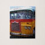 Autobús del vintage puzzle
