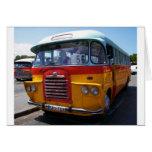 Autobús del vintage tarjeta