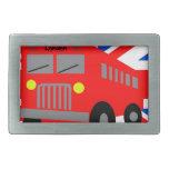 Autobús en London Hebilla De Cinturón