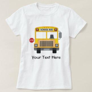 Autobús escolar adaptable camisas