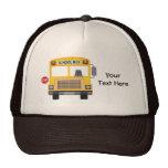 Autobús escolar adaptable gorros