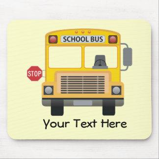 Autobús escolar adaptable alfombrillas de raton