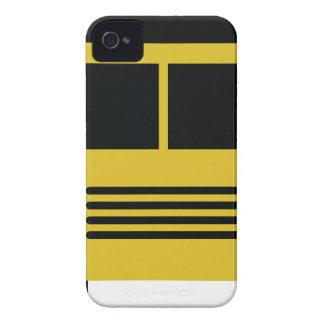 autobús escolar amarillo iPhone 4 cárcasas