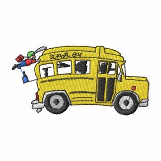 Autobús escolar polo bordado
