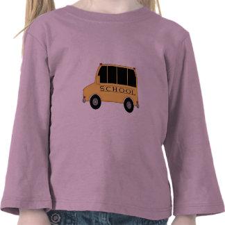 Autobús escolar camiseta