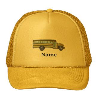 Autobús escolar de encargo gorra