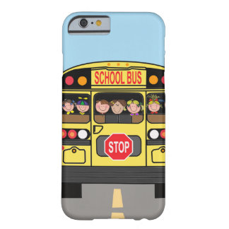 Autobús escolar del caso de Iphone Funda Barely There iPhone 6