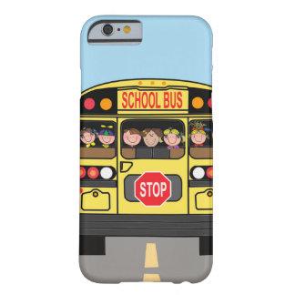 Autobús escolar del caso de Iphone Funda Para iPhone 6 Barely There