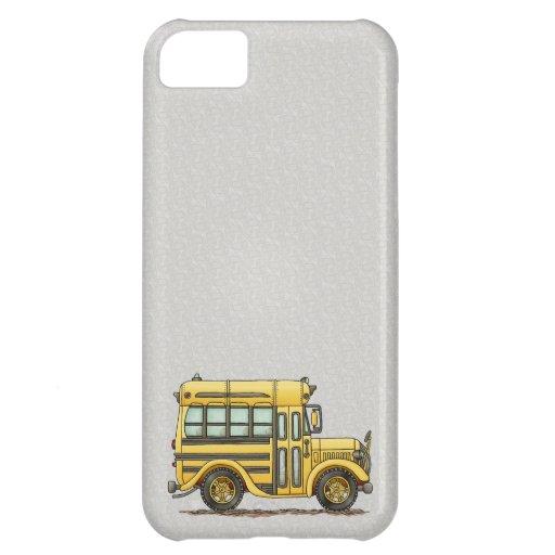 Autobús escolar lindo