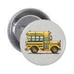 Autobús escolar lindo pin