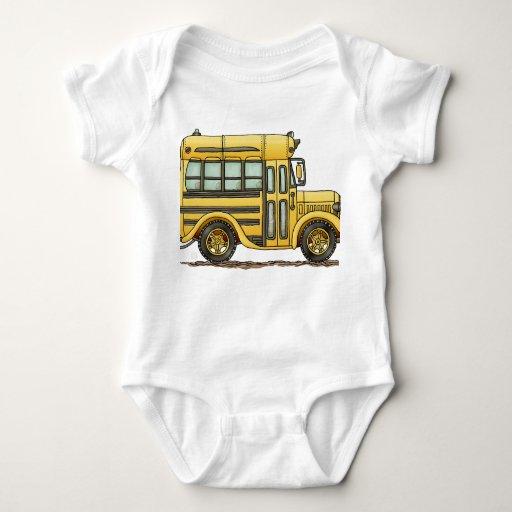Autobús escolar lindo playera