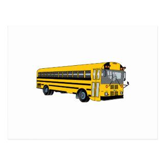Autobús escolar postales