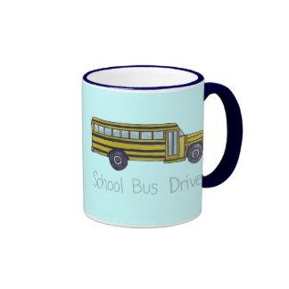 Autobús escolar taza