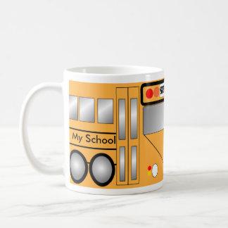 Autobús escolar taza clásica