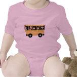 Autobús escolar traje de bebé