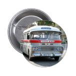 Autobús europeo pin redondo 5 cm
