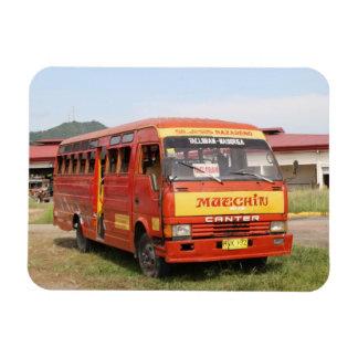 Autobús Imanes Rectangulares