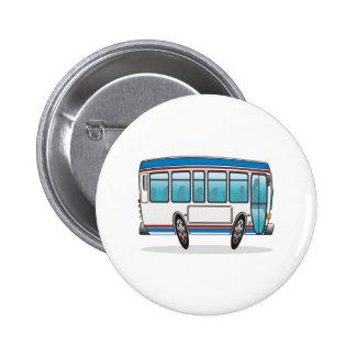 Autobús Pin Redondo De 2 Pulgadas