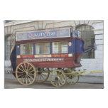 Autobús traído por caballo del vintage, Londres Manteles