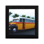 Autobús viejo de Dodge Caja De Recuerdo