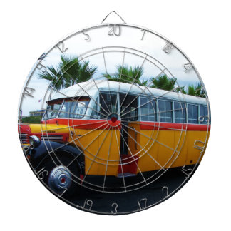 Autobús viejo de Dodge Tablero De Dardos