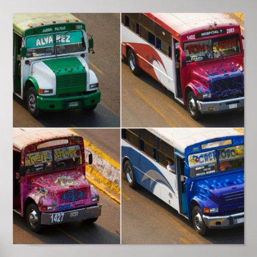 Autobuses de Acapulco Posters