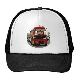 Autobuses rojos de Routemaster del autobús de Lond Gorras
