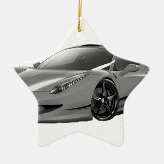 autocares coche ornamento de reyes magos
