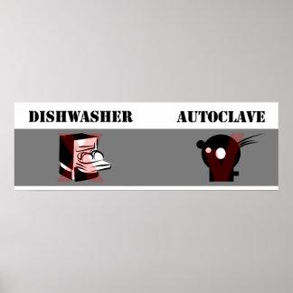 Autoclave no igual del lavaplatos impresiones