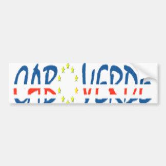 autocolante application Cape Verde Car Bumper Sticker