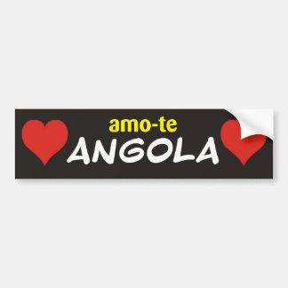 autocolante I love you Angola Bumper Sticker