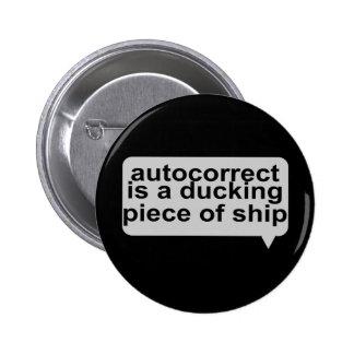 Autocorrect estúpido pin