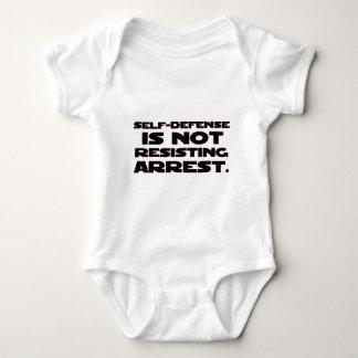 Autodefensa 4 mameluco de bebé