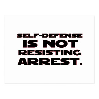 Autodefensa 4 postales