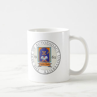Autodidact University Seal Coffee Mug