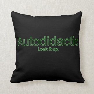Autodidactic Throw Pillow