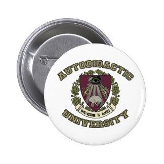 Autodidactic University Pins