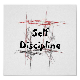 Autodisciplina de los principios del Taekwondo de Póster