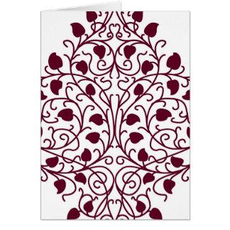 Autodisciplinado divino agradable contrapesada tarjeta pequeña