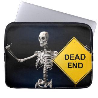 Autoestop del esqueleto fundas ordendadores